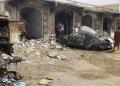 قصف صاروخي حوثي سابق استهدف حي سكني بمدينة مارب